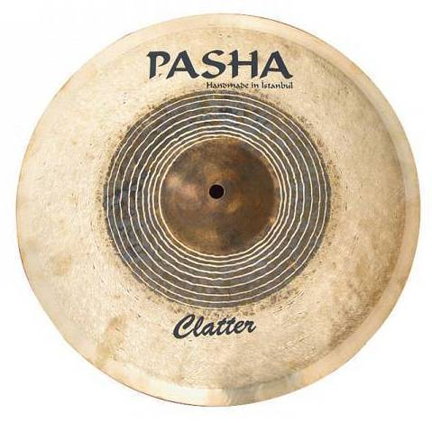 "Pasha Clatter 18"" Crash Thin"