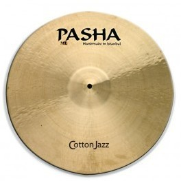 "Pasha Cotton Jazz 14"" Crash Thin"