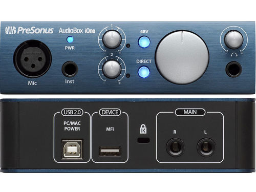 Presonus Audio USB Audiobox iOne