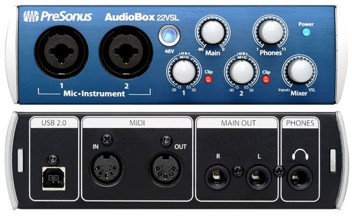 Presonus Audio USB Audiobox 22VSL