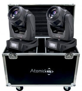 Atomic4dj ProBeam 7R + Case