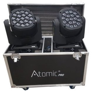 Atomic4dj 2 lotus PixStar Zoom + case